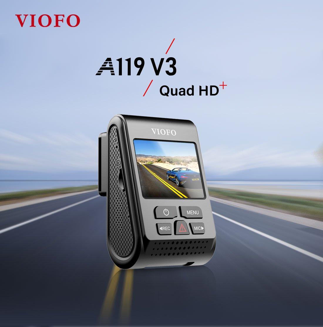 Vaizdo registratorius Viofo A119 V3