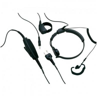 AE38 laringofonas-ausinė