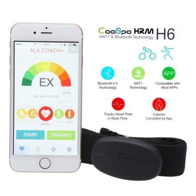 Bluetooth, ANT+ HRM širdies ritmo daviklis 2