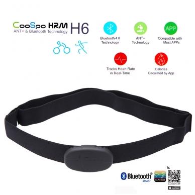 Bluetooth, ANT+ HRM širdies ritmo daviklis 3