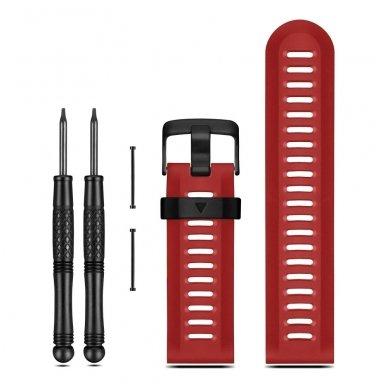 Garmin Fenix 3, Fenix 5x raudonas dirželis
