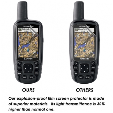 Garmin GPSMAP 62, 64, Astro 320 ekrano plėvelė 6