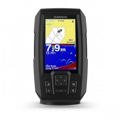 Garmin Striker Plus 4 echolotas