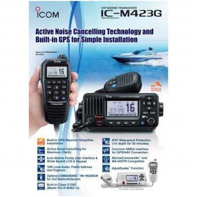 ICOM IC-M423G 2