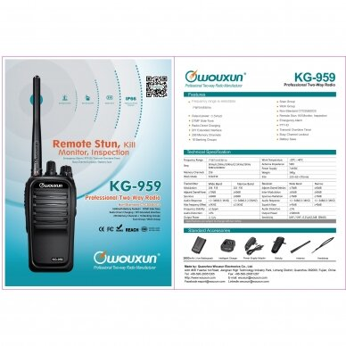 Wouxun KG-958U 2