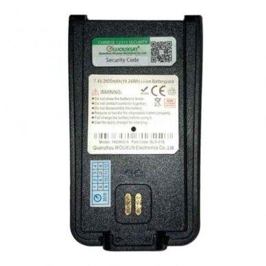 KGA-BLO-016 Ličio jonų baterija Wouxun stotelėms