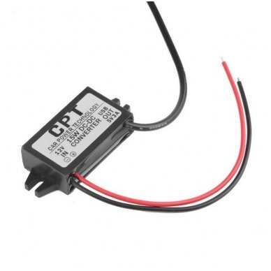Konverteris 12V į 5V USB 3