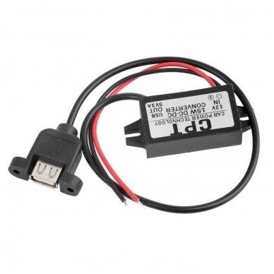 Konverteris 12V į 5V USB