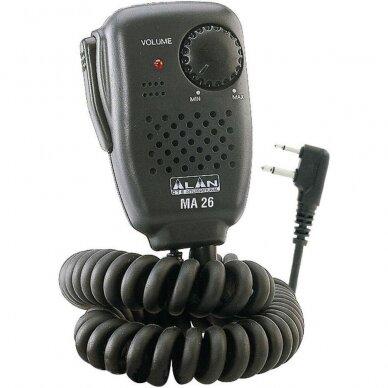 MA26L mikrofonas garsiakalbis stotelei 2