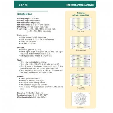 RigExpert AA-170 3