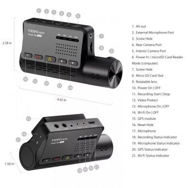 Viofo A139 2CH su GPS 7