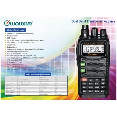 Wouxun KG-UV899 VHF/UHF 4